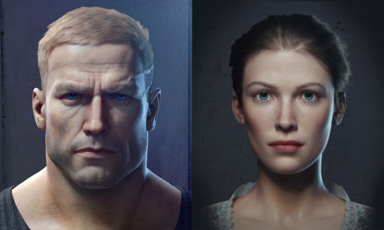 William B.J. Blazkowicz (l.) und Anya Oliwa (r.)