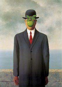Le fils de l'homme, René Magritte, 1964