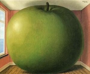 La Chambre d'Écoute. René Magritte, 1952