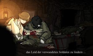 Valiant Hearts: Annas verwundete Soldaten