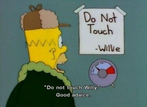 do not touch willie_simpsons